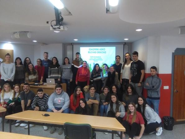 Foto con todos los alumnos